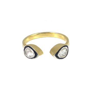 VERMEIL BASTI DOUBLE TEAR RING