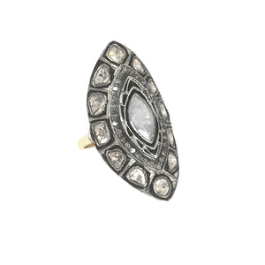 VERMEIL DATIA DIAMOND MARQUISE RING