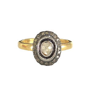 VERMEIL TANDA DIAMOND SOLITAIRE RING