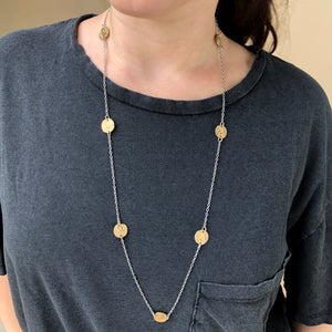 GOLD MASK COIN CHAIN