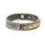 VINTAGE SILVER SKHIRAT ID BANGLE