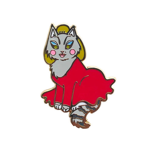 Divine Cat Enamel Pin