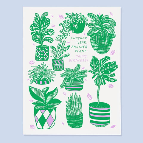 Another Plant Birthday Card (back in stock by June 10th)