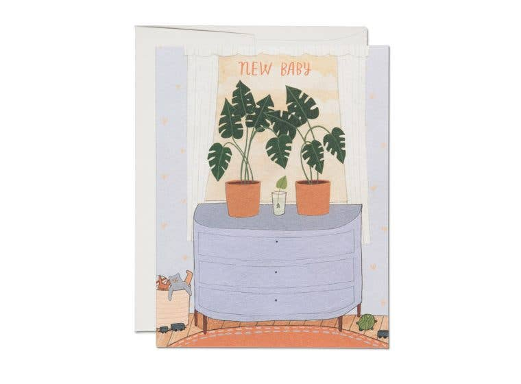 Red Cap Cards - Nursery Plants