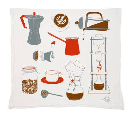 Claudia Pearson - Coffee Tea Towel