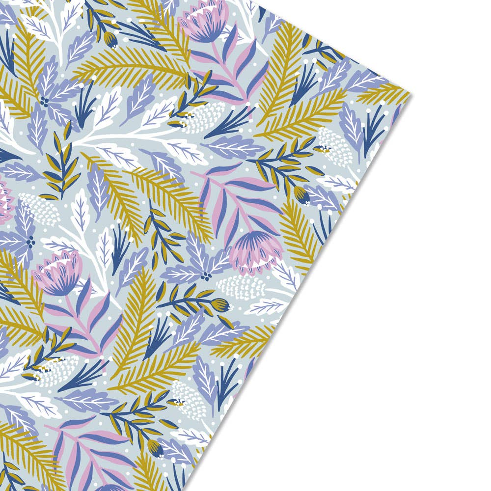 Wild Hart Paper - Winter Floral Gift Wrap