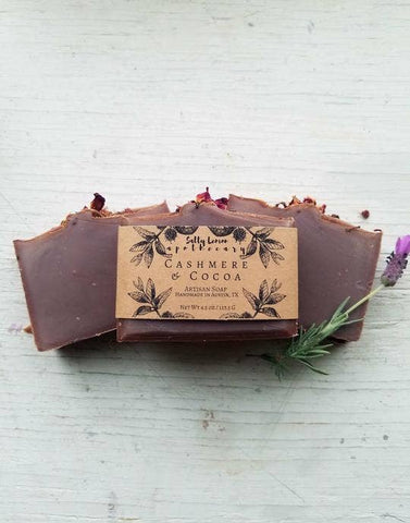 Cashmere and Cocoa Soap
