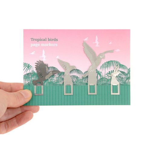 Bookmark set - Tropical Birds