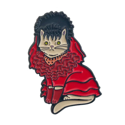 Danielle V Designs - Lydia Cat Enamel Pin