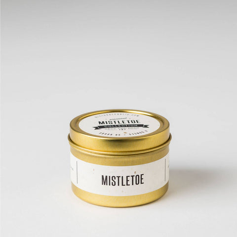 Mistletoe : Travel Tin Candle