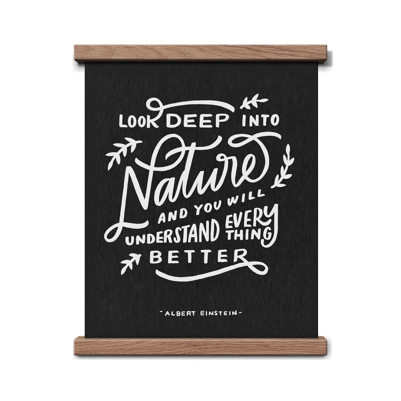Nature Einstein Quote 8 x 10 Print