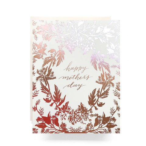 Happy Mother's Day Rosegold Foil