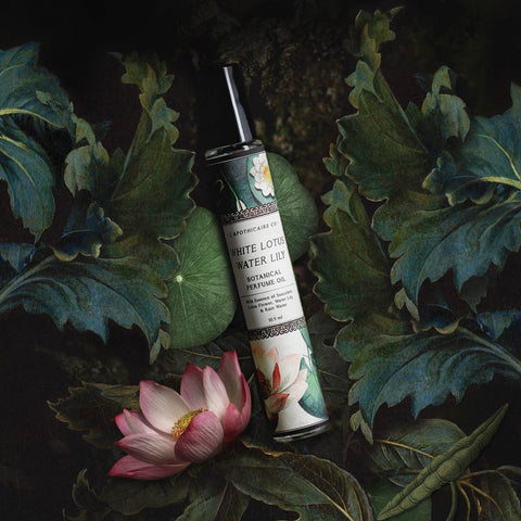 L'apothicaire Co. - BOTANICA | White Lotus + Water Lily | Perfume Oil