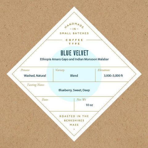 No. Six Depot - Blue Velvet Blend Whole Bean Coffee 10oz