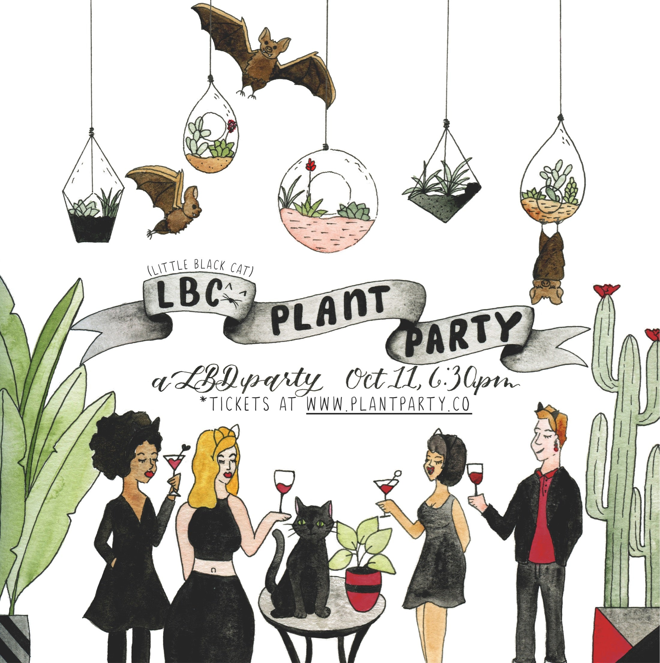 LBC Plant Party benefitting APA!