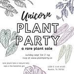 Unicorn Plant Party