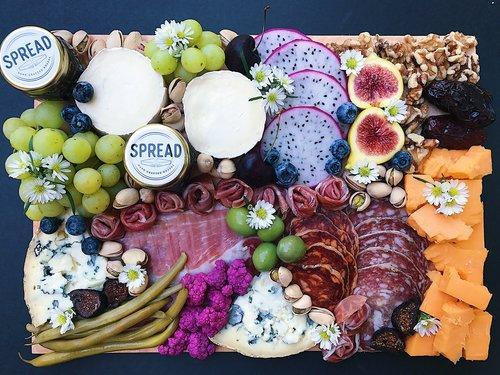 Handcrafted Cheese + Charcuterie Board