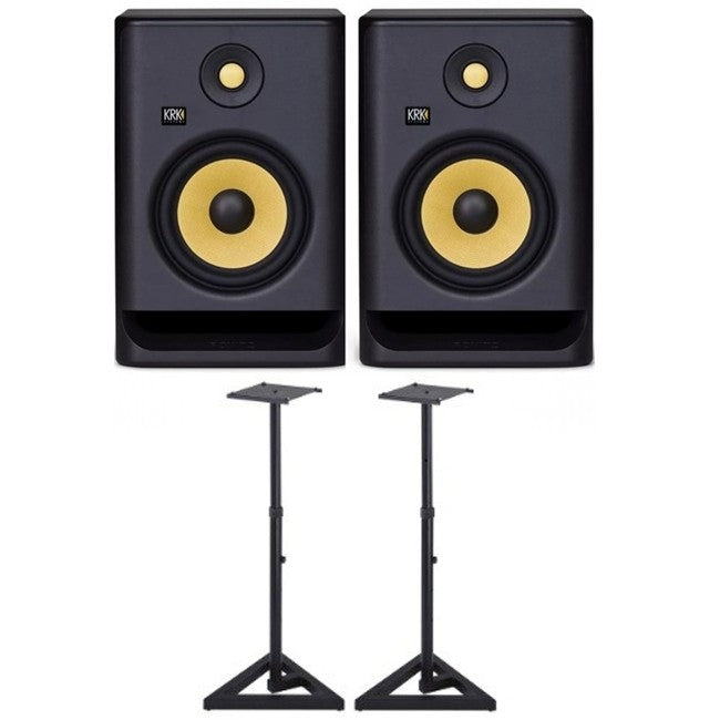 2 x KRK Rokit 5 G4 PACK w/ Stands
