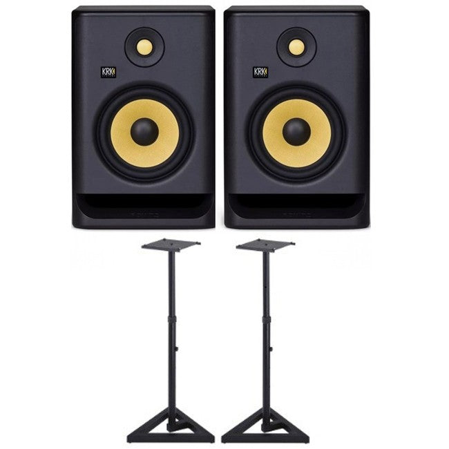 2 x KRK Rokit 7 G4 PACK w/ Stands