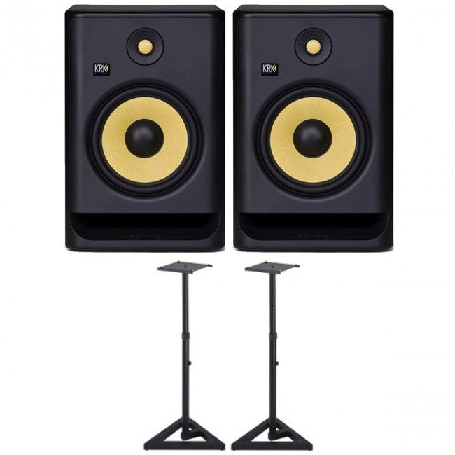 2 x KRK Rokit 8 G4 PACK w/ Stands