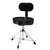 Ahead Spinal-G Drum Throne with Backrest - Black SPG-BBR4