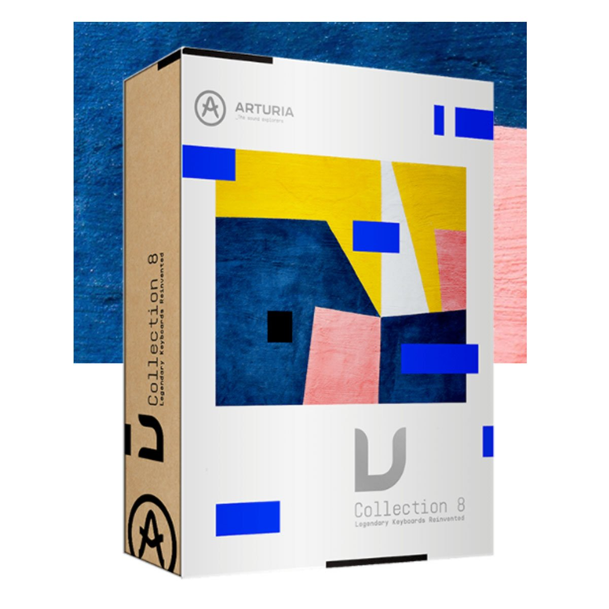 Arturia V Collection 8 Virtual Instrument Bundle Software - Serial Only (NO BOX)