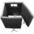Auralex MAX-Wall 1141: 4-Wall Isolation Booth - Charcoal