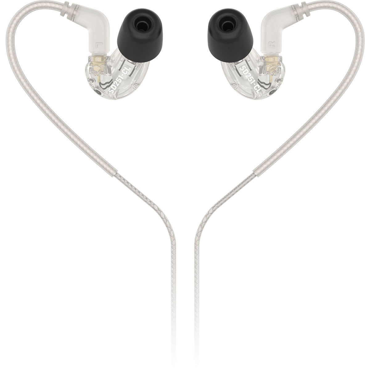 Behringer SD251-CL Clear Studio Monitoring Earphones In-Ear Monitors