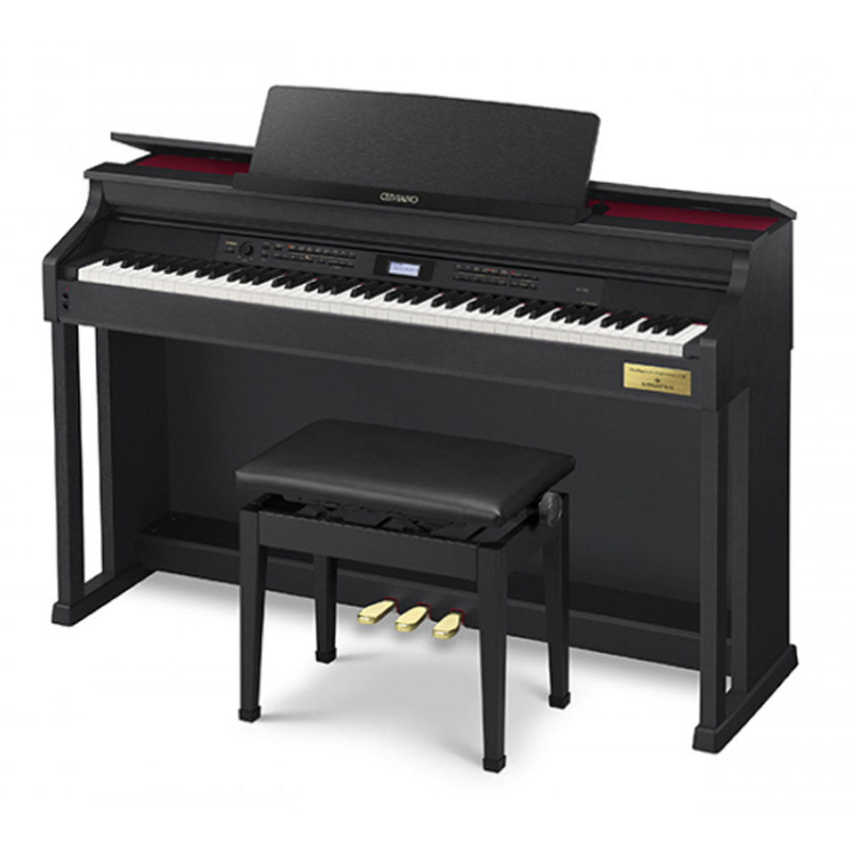Casio AP-710 Celviano Digital Piano Black w/ Bench
