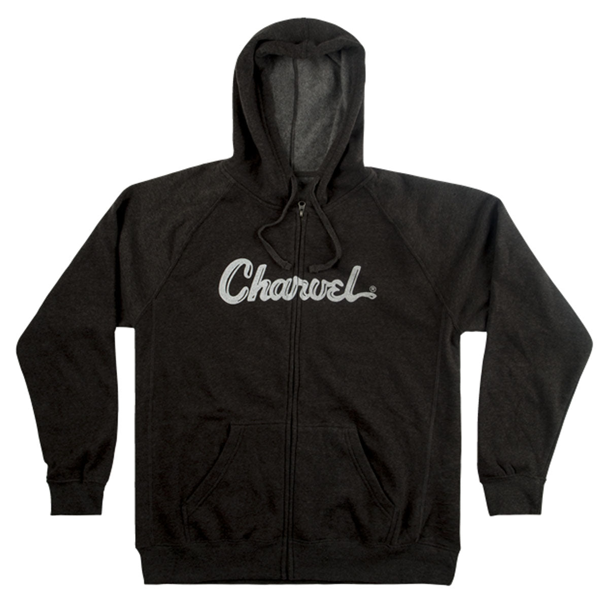 Charvel Logo Hoodie, Charcoal, S Small - 0992463406
