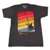 Charvel Sunset T-Shirt, Charcoal, XL Extra Large - 9922787706