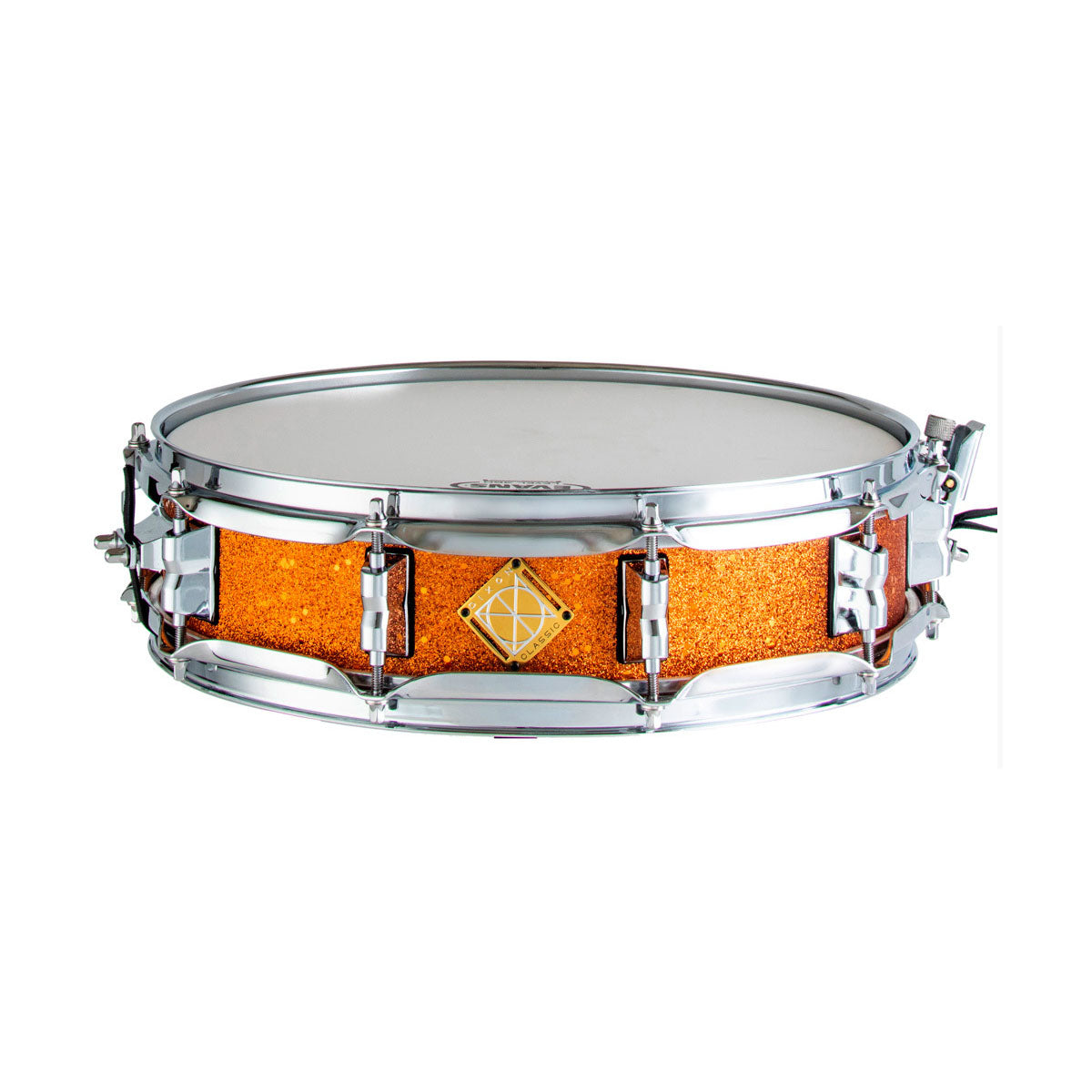 Dixon Classic Series Snare Drum Orange Sparkle - 14x3.5inch - PDSCL354OS