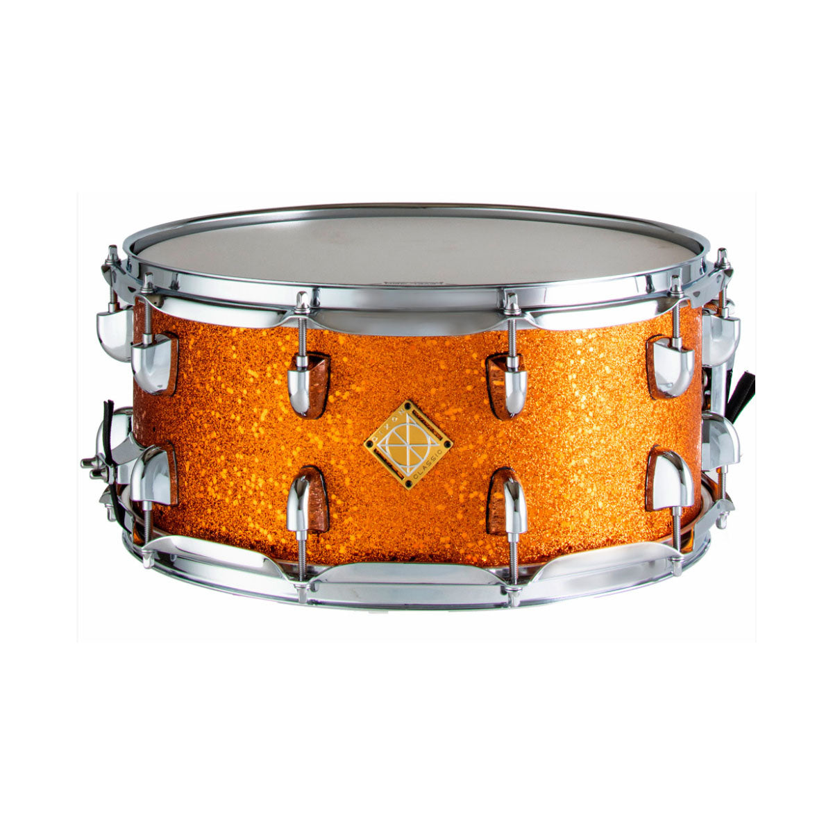 Dixon Classic Series Snare Drum Orange Sparkle - 14x6.5inch - PDSCL654OS