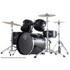 Dixon Fuse Limited Series Drum Kit 5-Piece Blade Black w/ 9278 Hardware- PODFL520BBPK