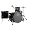 Dixon Spark Series Drum Kit 4-Piece Ocean Blue Sparkle w/ Cymbals & Hardware & Throne - PODSP418COBS