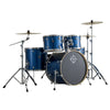Dixon Spark Series Drum Kit 5-Piece Ocean Blue Sparkle w/ Cymbals & Hardware & Throne - PODSP522AOBS