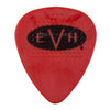 EVH Signature Picks, Red/Black, .88mm, (6 Pack) - 0221351204