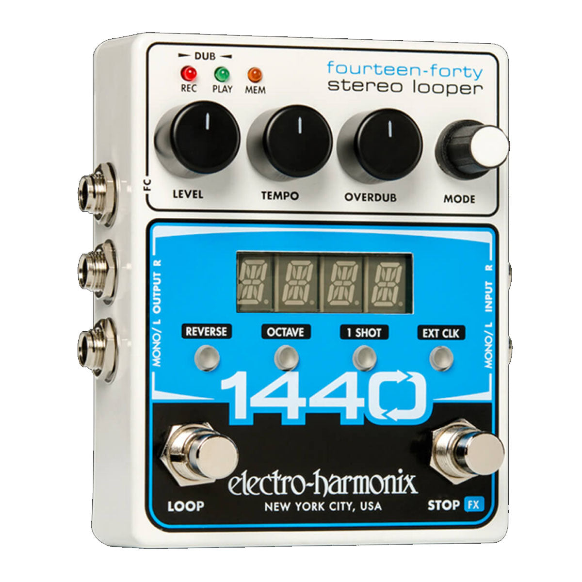 Electro-Harmonix EHX 1440 Stereo Looper Effects Pedal