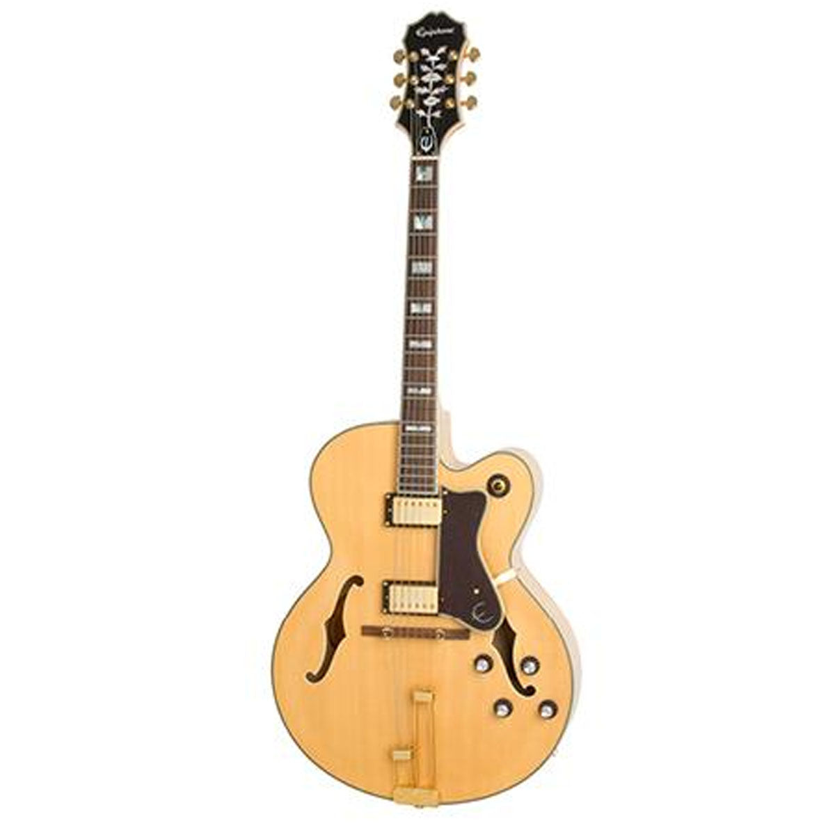 Epiphone Broadway Electric Guitar HollowBody Vintage Natural - ETBWVNGH1
