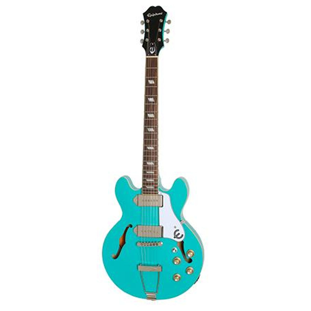 Epiphone Casino Coupe Electric Guitar HollowBody Turquoise - ETCCTQNH1