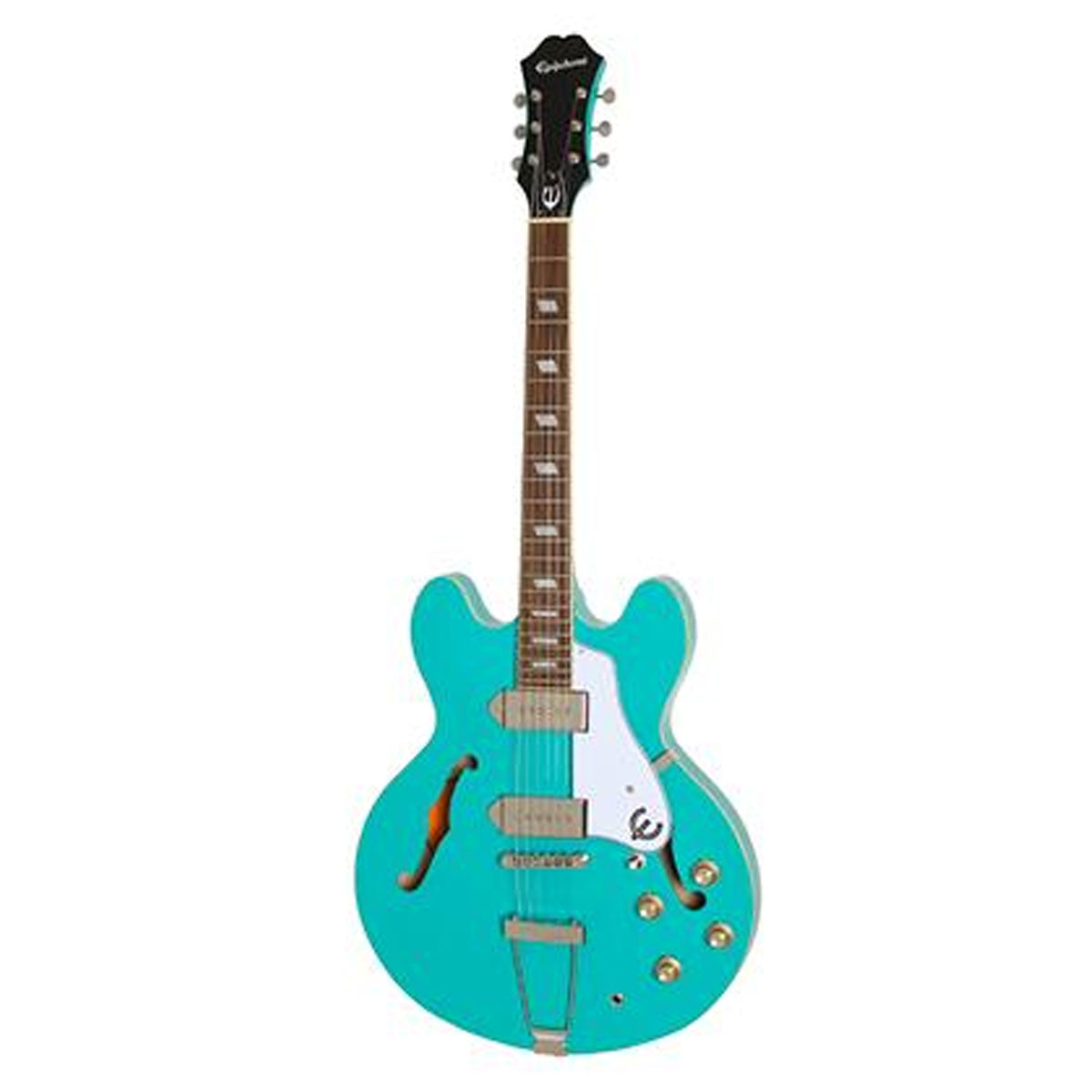Epiphone Casino Electric Guitar HollowBody Turquoise - ETCATQCH1