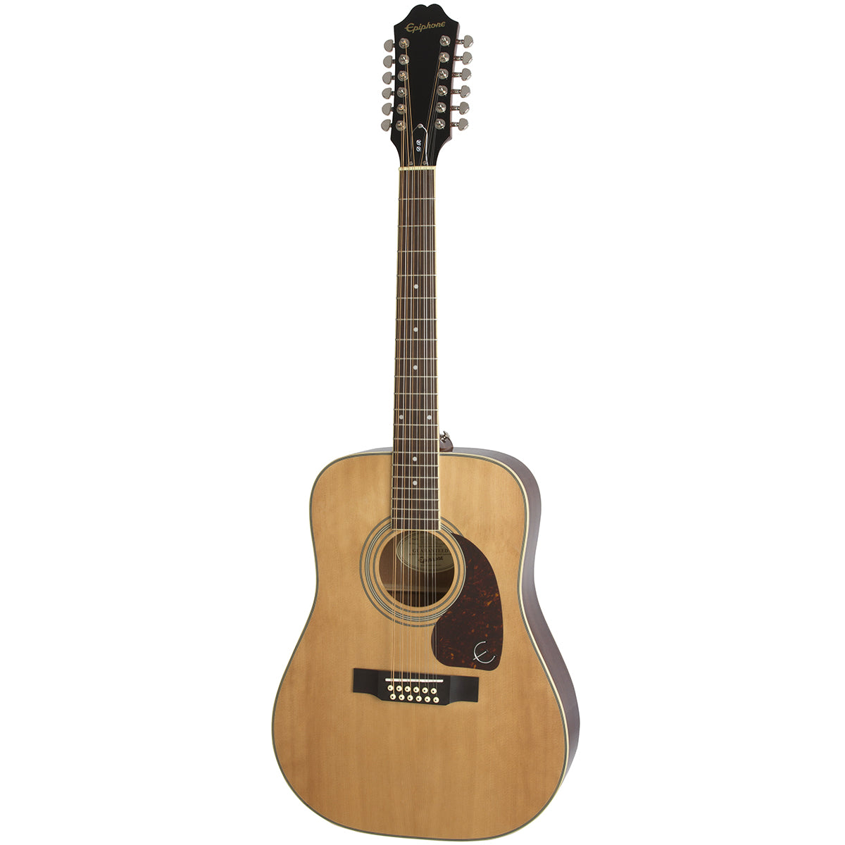 Epiphone DR-212 Acoustic Guitar 12-String Dreadnought Natural - EA2TNACH1