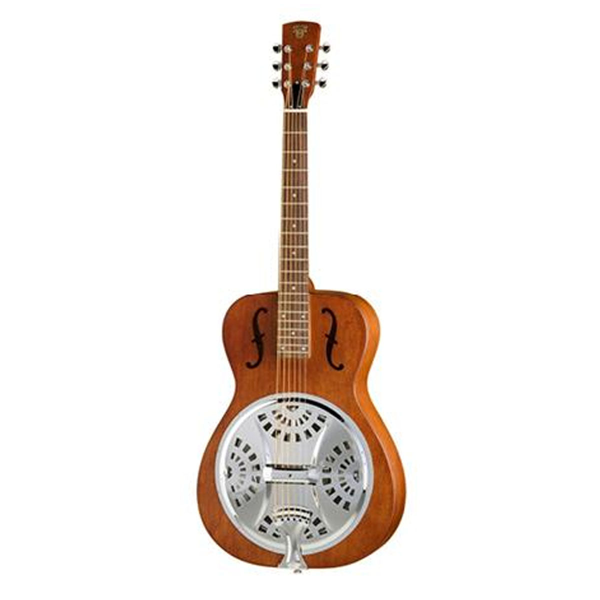 Epiphone Dobro Hound Dog Round Neck Resonate Guitar Vintage Brown - DWHOUNDRN