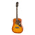 Epiphone Dove Pro Acoustic Guitar Square Shoulder Violinburst - EEDVVBNH1