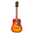 Epiphone Hummingbird Ukulele Tenor Uke Faded Cherry Sunburst w/ Pickup - EUHTFCNH1