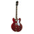 Epiphone Riviera (Frequensator) Electric Guitar Semi-Hollow Sparkling Burgundy - EORSBUNH1