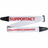 Fender FSR Support Act Charity Guitar Strap White/Red - 0990639013