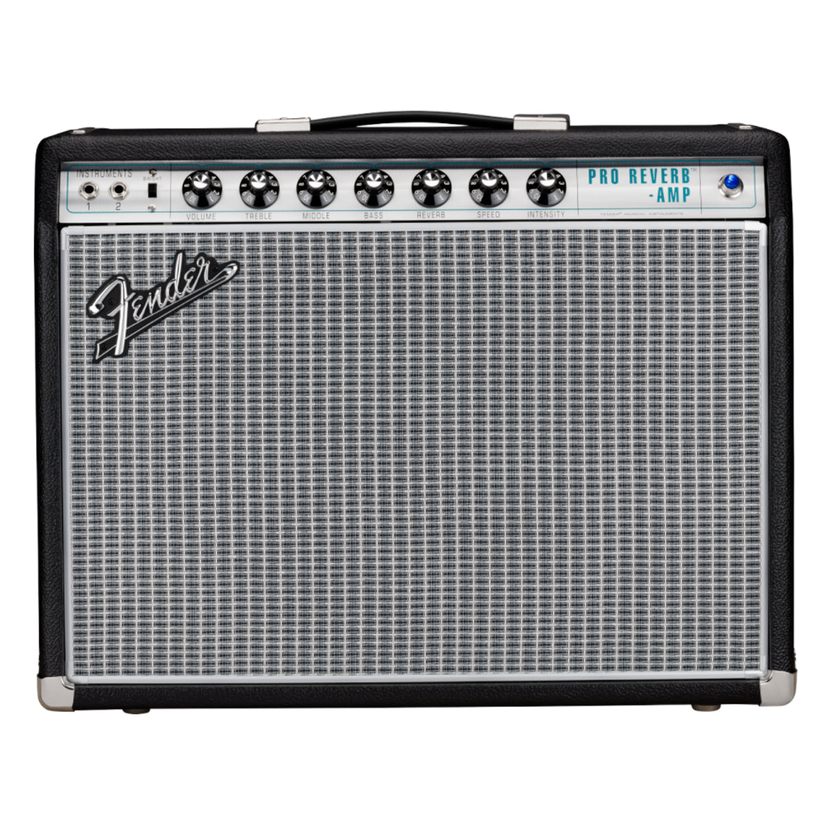 Fender 68 Custom Pro Reverb Guitar Amplifier Combo Amp - 2278003000