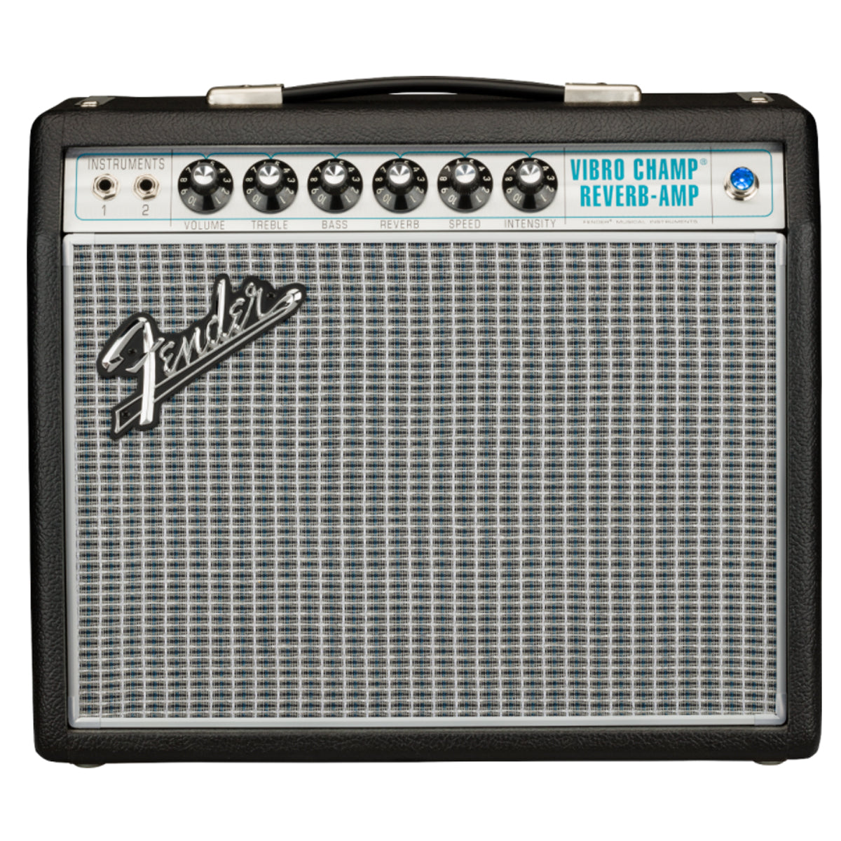 Fender 68 Custom Vibro Champ Reverb Guitar Amplifier Combo Amp - 2279003000
