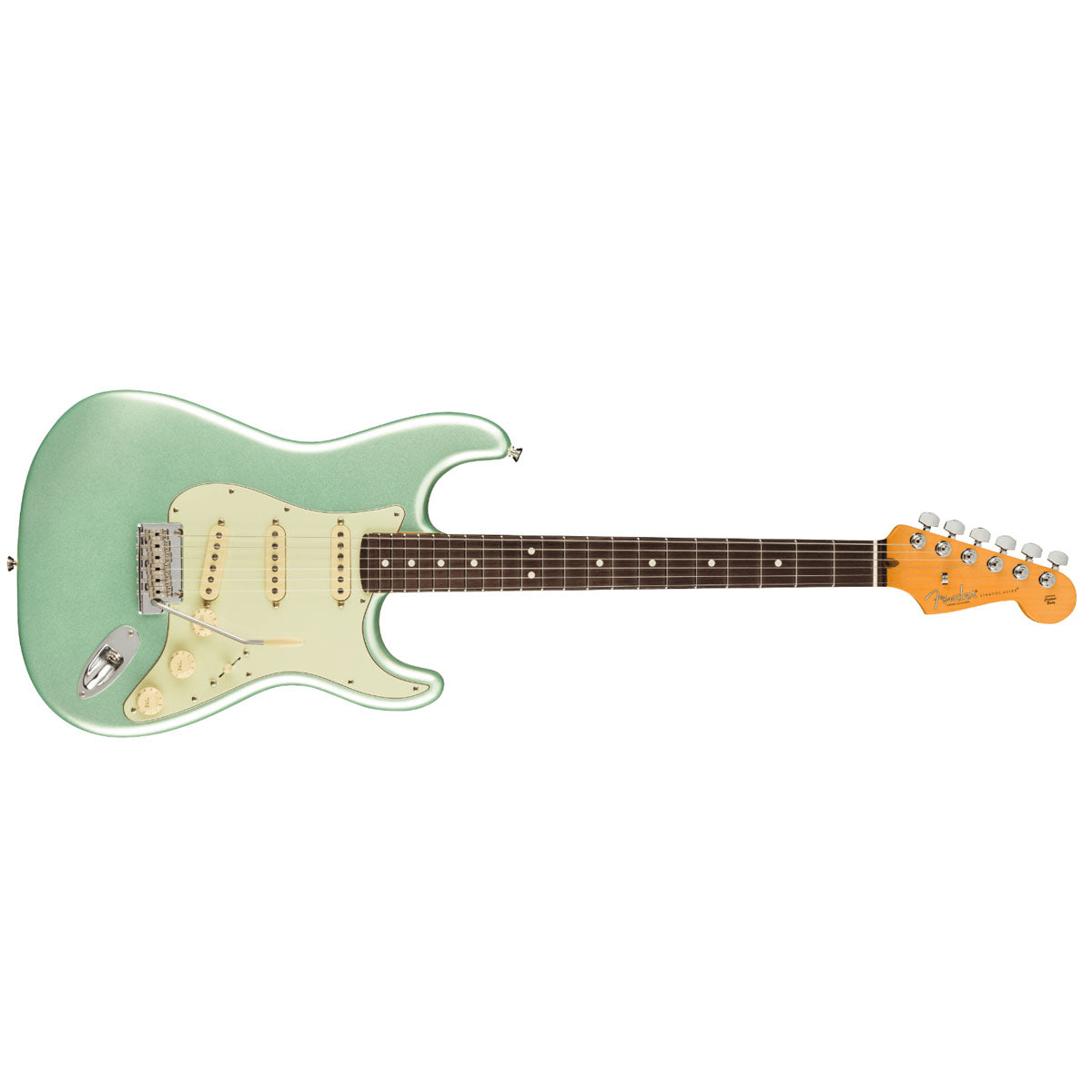 Fender American Professional II Stratocaster Electric Guitar Rosewood Fingerboard Mystic Surf Green - 0113900718